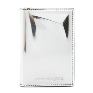 Alexander McQueen Metallic Card Case